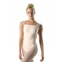 Ballet Rosa Dauphine Balletpak met Brede Bandjes en Vierkant Halslijn
