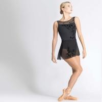 Ballet Rosa Leonie Zwart Wikkelrokje Zijkant