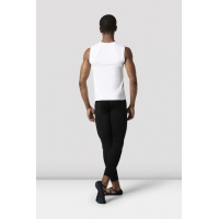Bloch heren Fitted Muscle Top MT011 wit