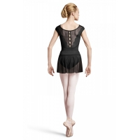 BalletRok R2931 Coeus zwarte mesh dames elastische boord