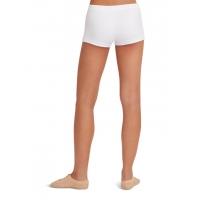 Capezio Laag uitgesneden Shorts wit achter