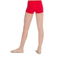 Capezio Laag uitgesneden Shorts rood achter