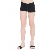 Capezio Laag uitgesneden Shorts zwart