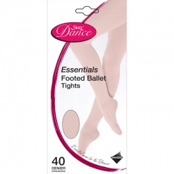 Silky Dance Essentials footed panty kinderen