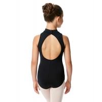 Lulli LUB226C Penelope zwart Balletpak voor meisjes open rug