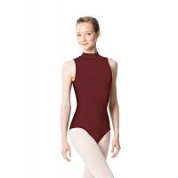 Lulli LUB253 Anna mouwloos balletpakje burgundy