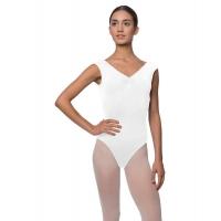 Lulli Peyton LUB222 Wit Balletpakje voor dames