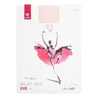 Rumpf Eve roze balletpanty met volledige voet RU100