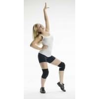 Rumpf Kniebeschermers zwart voor streetdance en hiphop