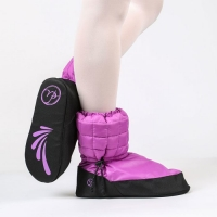 Gewatteerde Warme Booties Purple