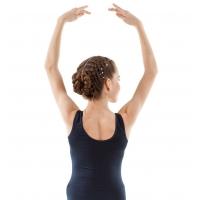 Sansha Shanice Studio Zwart Balletpak met Ronde Rug