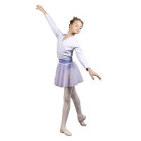 Sansha Candy Studio G22C Balletvest Lila Lange Mouwen